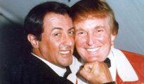 Donald Trump y Sylvester Stallone, en una imagen de archivo.