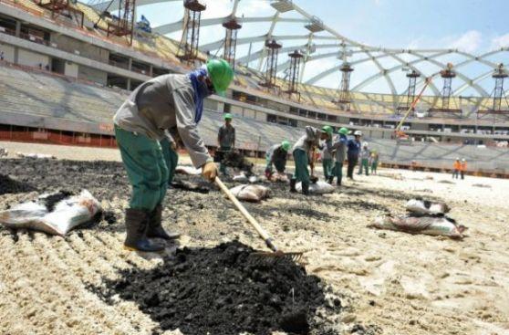 Los abusos laborales son continuos en Qatar, organizador del Mundial 2022.