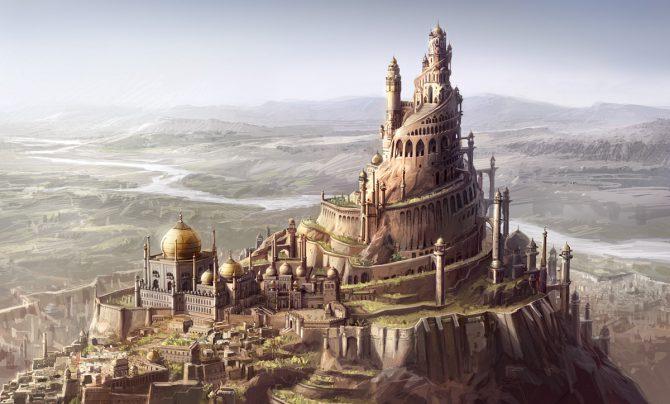 Fortaleza de Alamut.