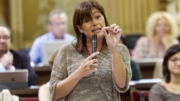 Francina Armengol, presidenta del Gobierno balear