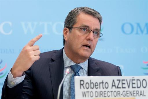 El director general de la Organización Mundial del Comercio (OMC), Roberto Azevedo.