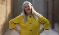 """La historiadora Mary Beard, premio Princesa de Asturias de Ciencias Sociales y autora de """"SPQR"""", un ensayo de historia del imperio romano y también uno de los libros del año, durante una entrevista con EFE en la que explica las claves del éxito, pocos días antes de recibir el menciobado premio."""