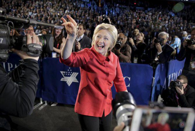 Hillary Clinton, títere del establishment.