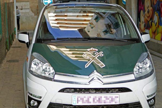 Un coche de la Guardia Civil.