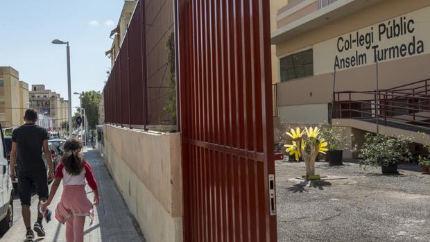 Imagen del colegio donde la niña de 8 años fue salvajemente agredida.