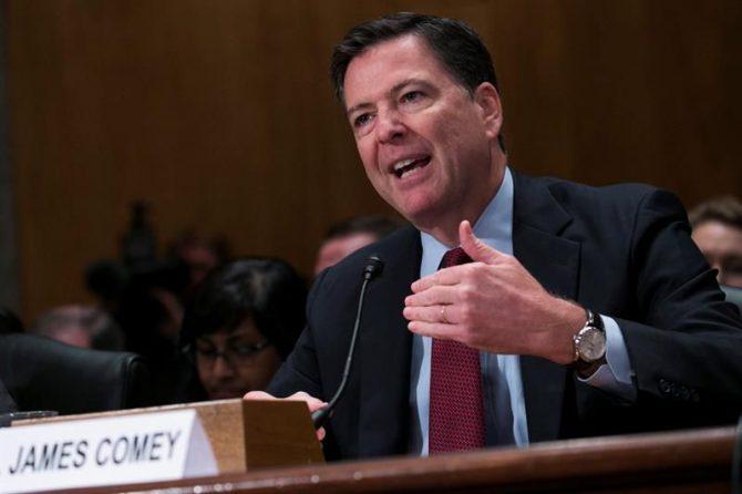 El director del FBI James Comey.
