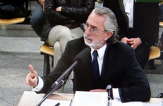 El cabecilla de la trama Gürtel, Francisco Correa.