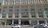 Imagen de la fachada de la tienda de Primark en la Gran Vía de Madrid.