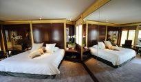 Una habitación del hotel Park Hyatt Paris-Vendome el 12 de mayo de 2011 en la capital francesa