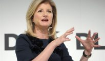 Arianna Huffington, editora jefe del periódico digital The Huffington Post.