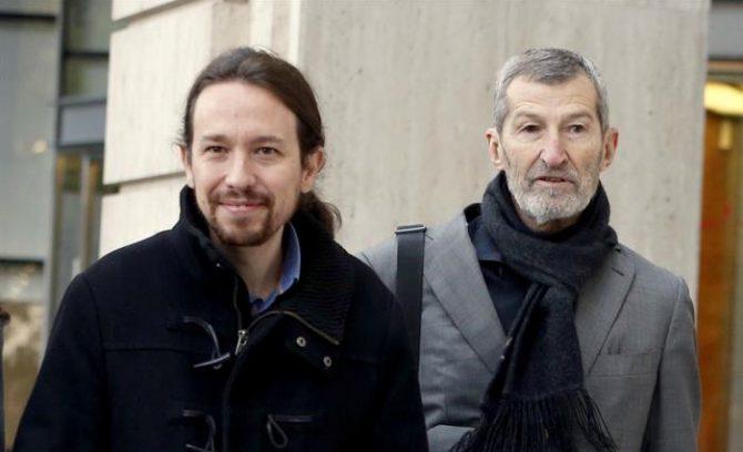 Pablo Iglesias y Julio Rodríguez.