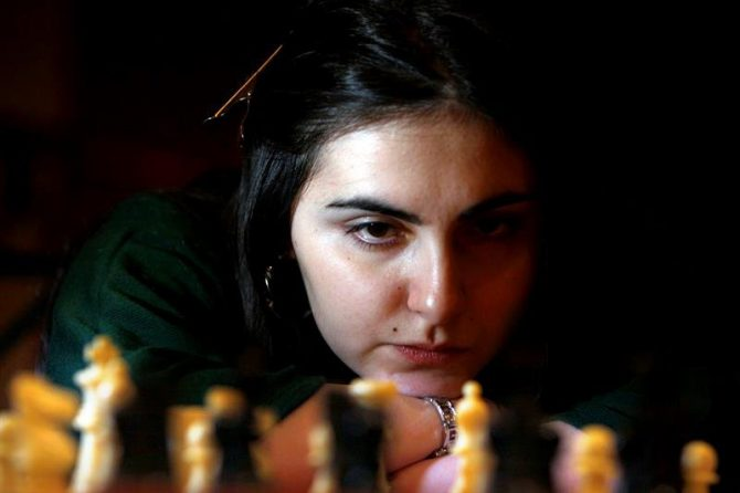 Ana Matnadze, Maestro Internacional de ajedrez.