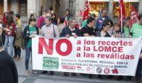 Concentración en Toledo para exigir la retirada de las reválidas y la derogación de la Lomce