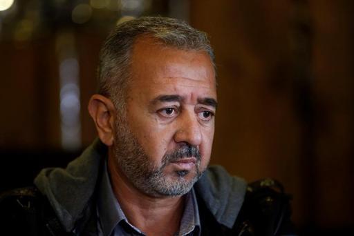 El refugiado sirio Osama Abdul Moshen.