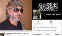 "Osama Abdul Mohsen, celebrado como un ""muyahidin"" en su Facebook."