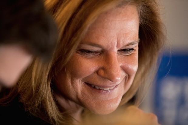 Jennifer Palmieri, directora de comunicación de Hillary Clinton.