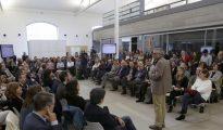 El consejero de Políticas Sociales y Familia , Carlos Izquierdo, en la presentación de la Estrategia de Inclusión Social