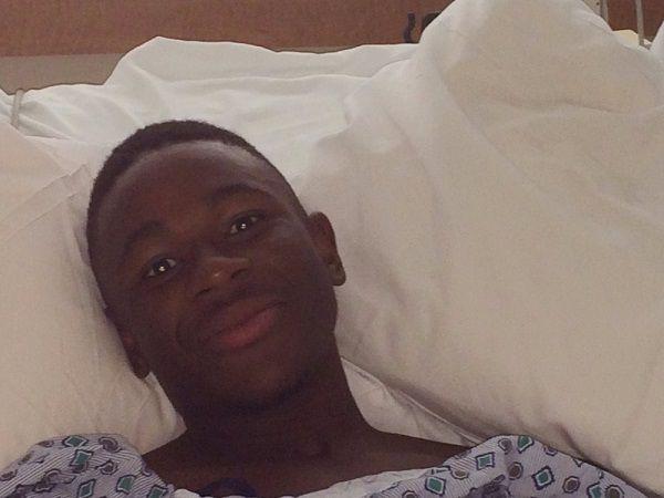 Reuben en el hospital