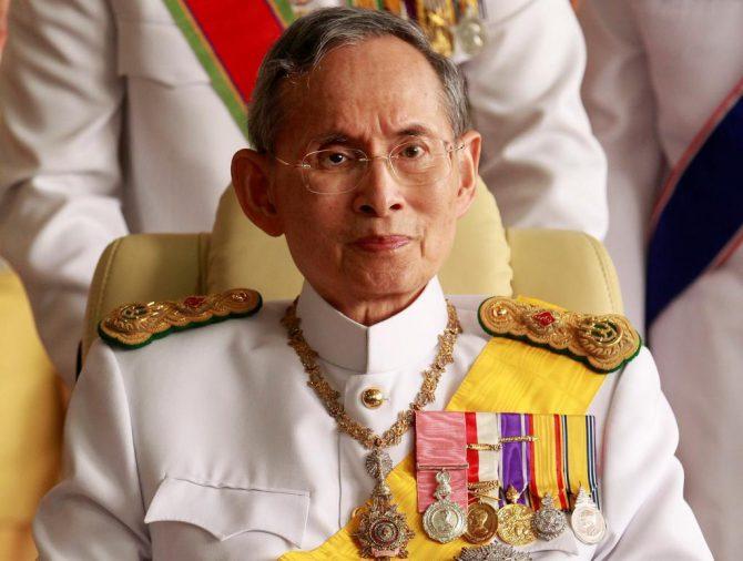 Bhumibol Adulyadej, en un imagen de archivo.