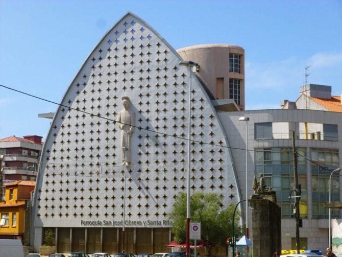 Iglesia de San José Obrero en cuyo interior se produjo la agresión.