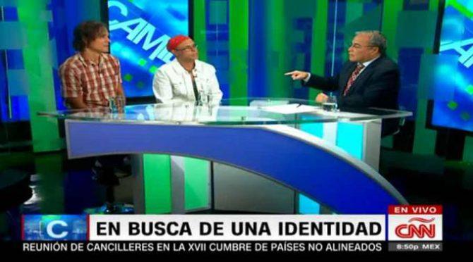 Paul y Maritza entrevistados por Camilo Egaña. Foto: Captura de video / CNN en Español.
