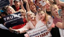 Seguidoras de Donald Trump.