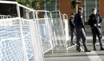 La Policía Nacional cortó los accesos al Congreso, en una protesta similar en 2012