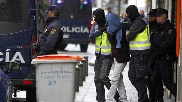 Imagen de archivo de una operación antiyihadista en Gerona