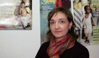 La responsable de Sensibilización de Cáritas Salamanca, Belén Santamaría -