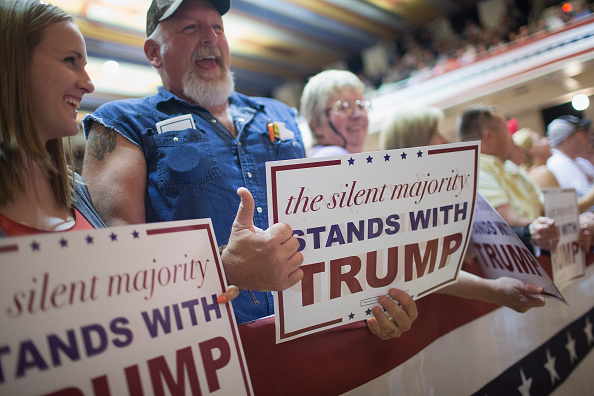 Seguidores de Trump.