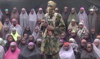 Uno de los videos grabados por el grupo Boko Haram. Las imágenes muestran a las estudiantes secuestradas por los terroristas