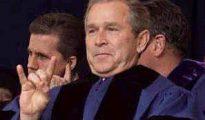George Bush, triunfador de las polémicas elecciones en Florida en 2000.