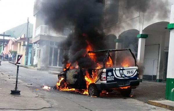Los disturbios en Catemaco, Veracruz, se generaron por la desaparición del sacerdote católico José Luis Sánchez Ruiz
