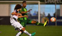 Cleber Santana, durante la final de la Copa Sudamericana
