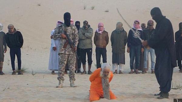 La ejecución se llevó a cabo en la península del Sinaí