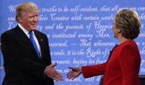Hillary Clinton y Donald Trump, en el primer debate presidencial