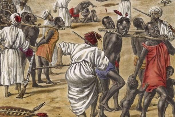 Esclavistas árabes.