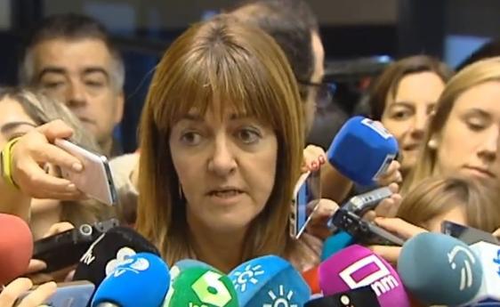 Idoia Mendía, secretaria general del PSE