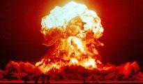 Una explosión nuclear durante una prueba en EE.UU.Una explosión nuclear durante una prueba en EE.UU.