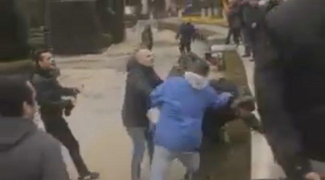 La Policía tuvo que intervenir