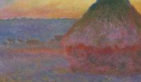 'Meule' es parte de una serie de 25 pinturas que Monet pintó a comienzos de 1890