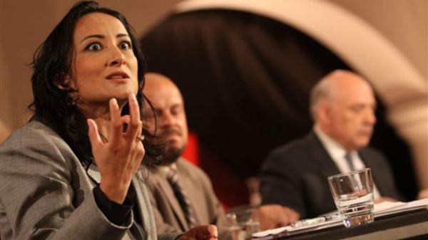 Nomani lucha por los derechos de las mujeres en el islam. Es proaborto, cambio climático y apoya el matrimonio entre personas del mismo sexo. Eso no le impidió votar por Trump