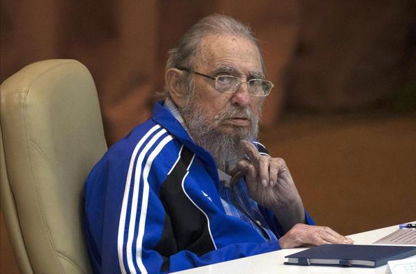 Fidel Castro, en Abril de este año, en el Congreso del Partido Comunista de Cuba