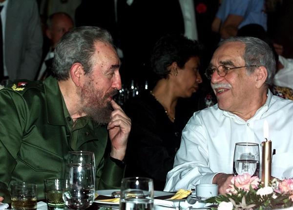 Marzo, año 2000, junto a Gabriel García Márquez