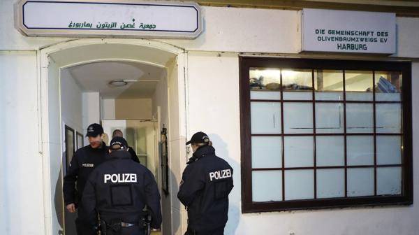 La policía registró inmuebles en 60 ciudades en el oeste de Alemania y en Berlín