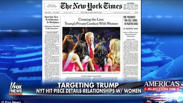 Una polémica portada de The New York Times contra Trump