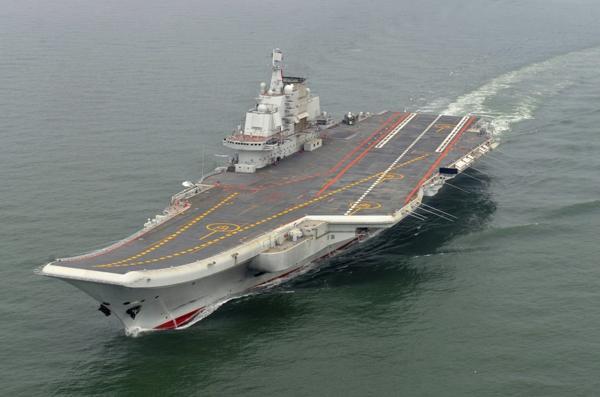 El Liaoning está basado en un buque soviético de la clase Almirante Kusnetzov