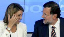 Rajoy y Cospedal.