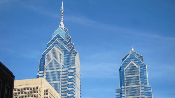 El rascacielos rompió con la regla de Filadelfia