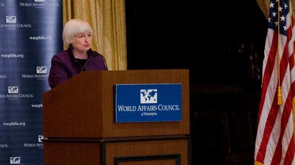 La Reserva Federal, al mando de Janet Yellen